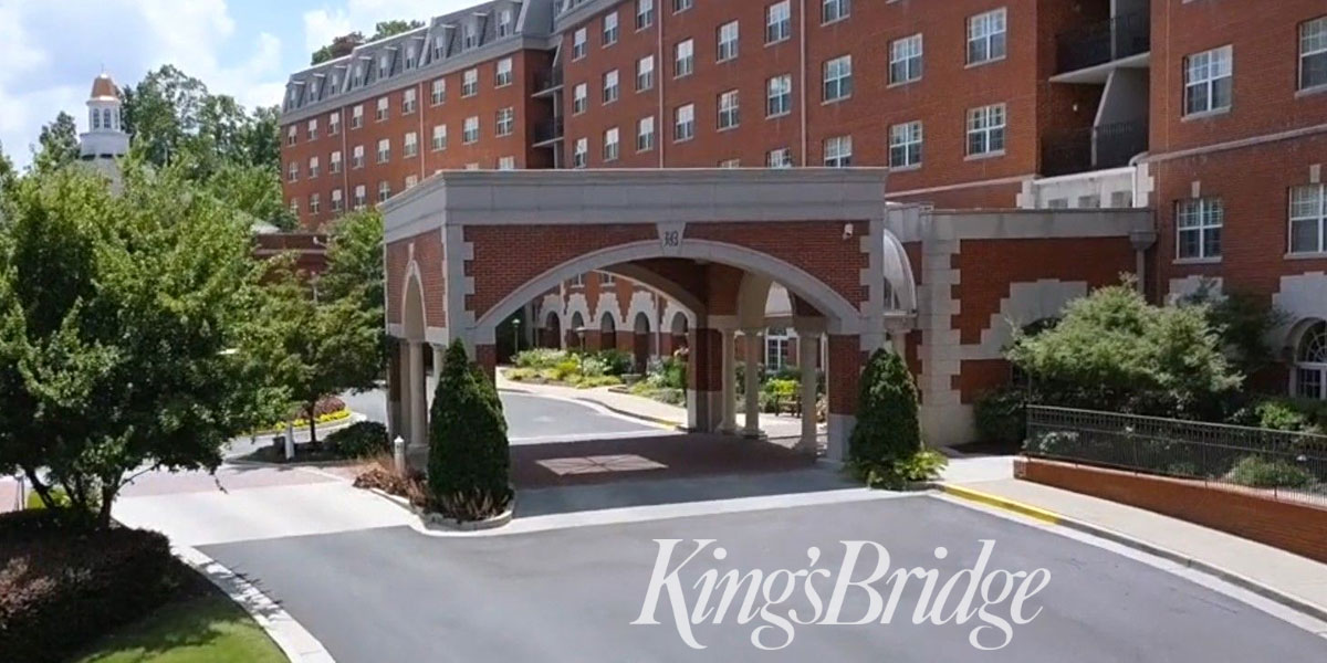KingsBridge Retirement Community with West Pond
